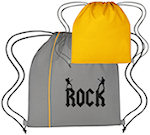 Reversible Polyester Drawstring Bags